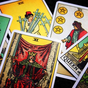 calgary tarot card deck example